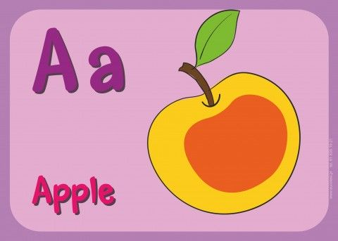 Angielski alfabet obrazkowy