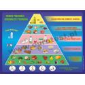 Nowa piramida żywienia dla dzieci (80cm x 60cm)