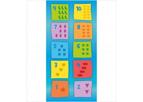 Mata edukacyjna ″Kolorowe kształty″