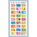 Angielski alfabet obrazkowy - mata edukacyjna
