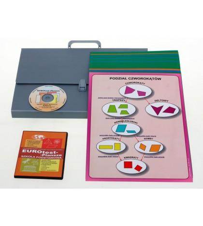 Matematyka - Zestaw plansz w wersji drukowanej + program CD