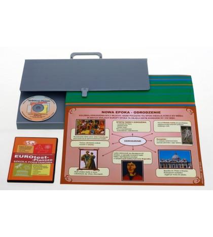 Historia i społeczeństwo - Zestaw plansz w wersji drukowanej + program CD
