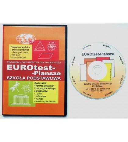 Język polski - Zestaw plansz w wersji multimedialnej na CD