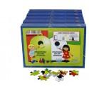 """Puzzle edukacyjne """"Recykling"""""""