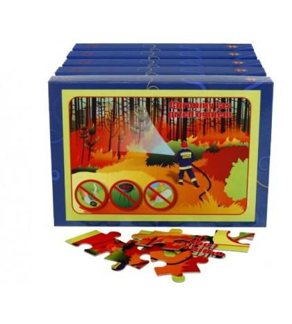 """Puzzle edukacyjne """"Ekologia na co dzień"""" (5 pudełek w zestawie)"""