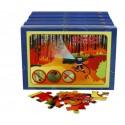 """Puzzle edukacyjne """"Ekologia na co dzień"""" (5 pudełek z puzzlami)"""