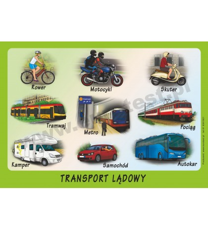Czym podróżujemy? Transport.